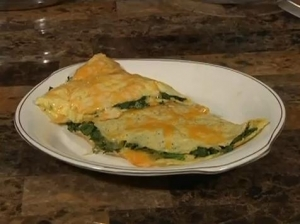 Recipe: Spinach and Cheese Omelette