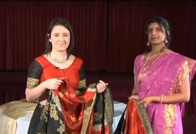 South Asian Fashion - Saris (Part 2)